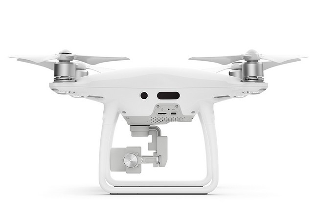 Drone de remplacement DJI Phantom 4 Pro (sans radio) - vue de côté
