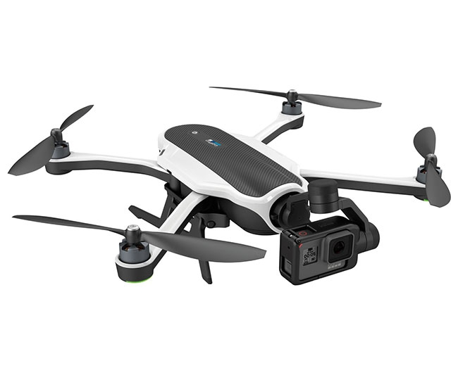 Drone GoPro Karma avec nacelle stabilisée 3 axes et GoPro Hero 5 montée