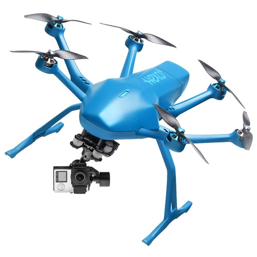 drone hexo plus follow me