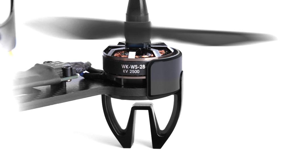 Vue moteur Drone racer Walkera F210 3D RTF