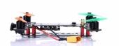 Drone racer X160 DYS pour le FPVracing vue de biais