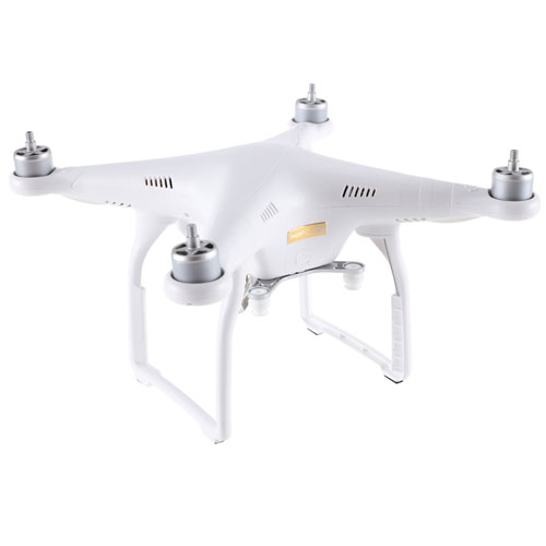 Drone DJI Phantom 3 4K (drone seul) - vue en perspective