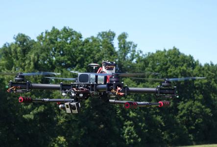 Découvrez le drone développé par STS : le TC1