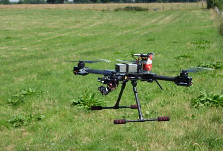 Découvrez le drone développé par studioSPORT : le TC1
