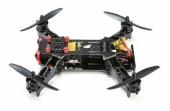 Drone Eachine Racer 250 version DIY monté vu de côté