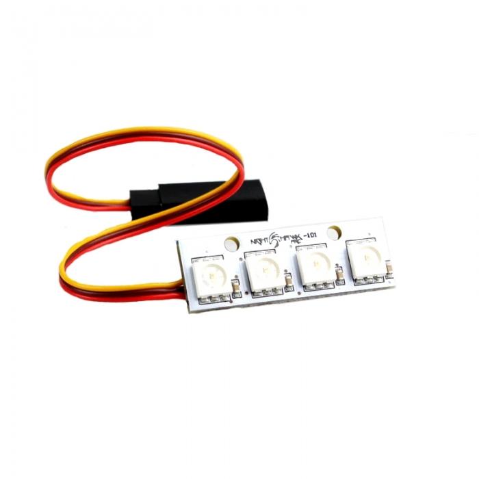 Emax Nighthawk 200 ARF - Vue barre de LED