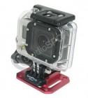 Embase de fixation plate en aluminium GoPro