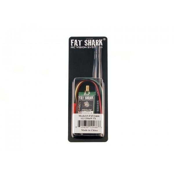 Emetteur 1,3 Ghz Fatshark 250 mW dans son emballage