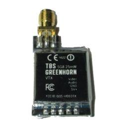 Émetteur 5,8 Ghz TBS GreenHorn 25mw