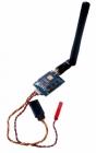 Emetteur Mini 25mW 5.8GHz 40CH Raceband avec les câbles de raccordement