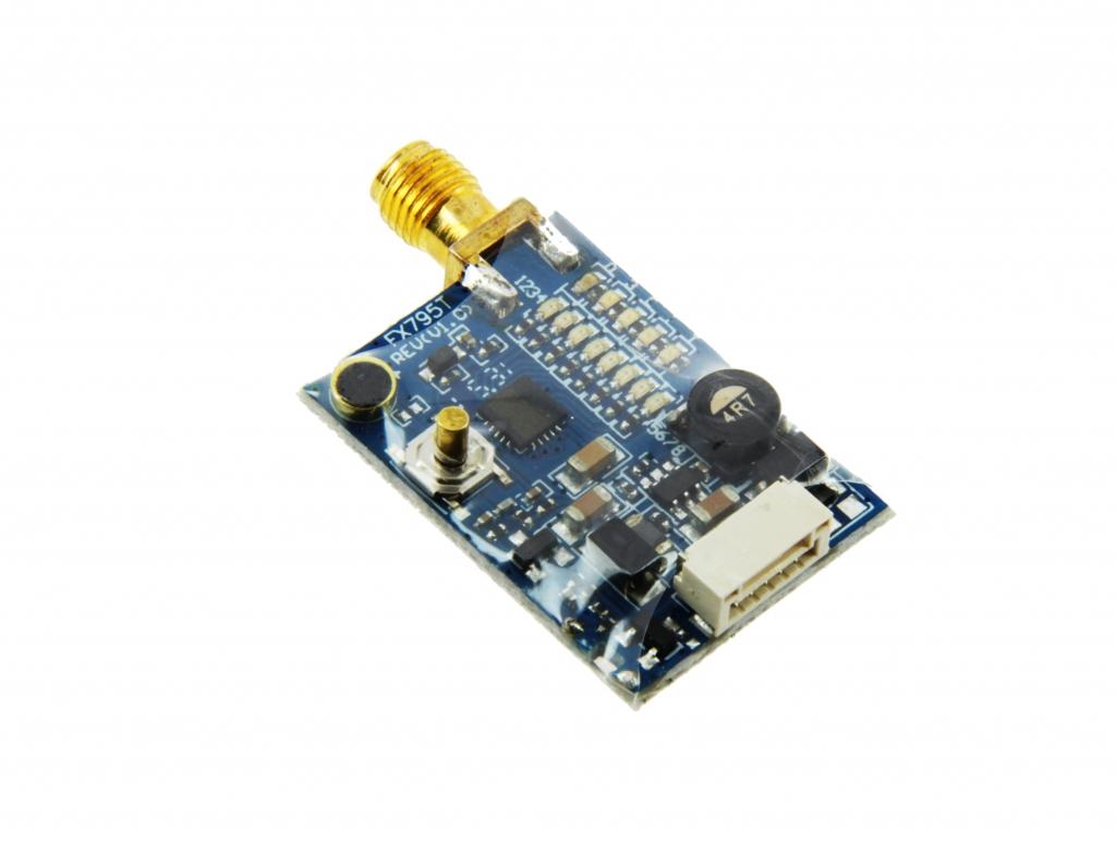 Emetteur vidéo 5.8 Ghz Raceband 40 canaux 25/200 mW - vu du dessous