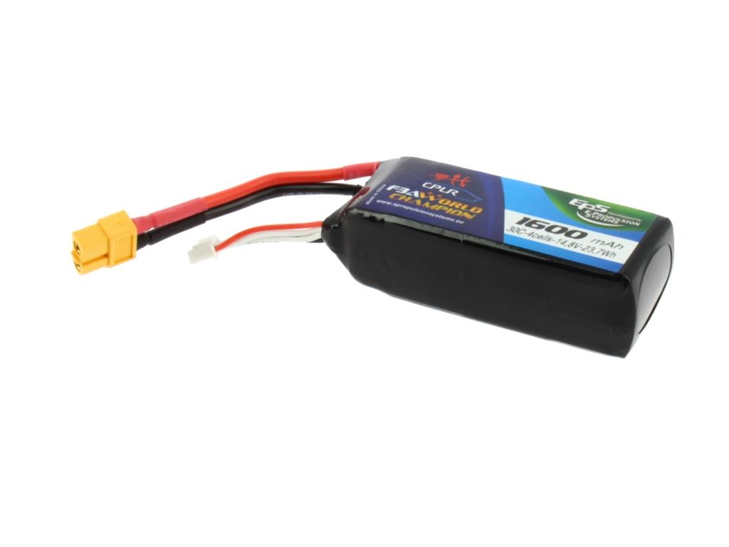 Batterie lipo 4S 1600 mAh 40C (XT60) - EPS