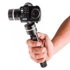 Steadycam Feiyu G100 de profil avec caméra PNJcam