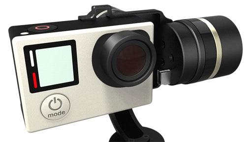Connectique USB intégrée pour alimenter votre GoPro Hero 3/3+ ou hero 4 lors de vos prises de vues