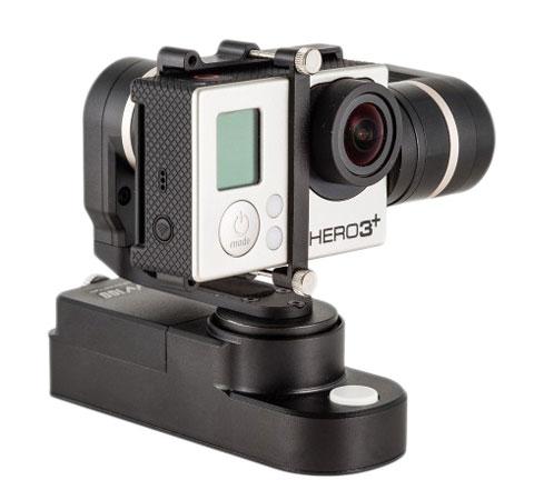 Steadycam Feiyu GW 100 pour caméra embarquée GoPro hero 3/3+/4 et PNJcam AEE