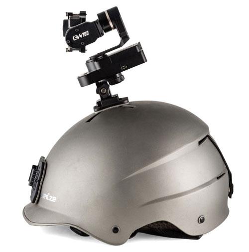 Le Feiyu GW 100 se fixe partout que ce soit sur un casque, une voiture, un snowboard...
