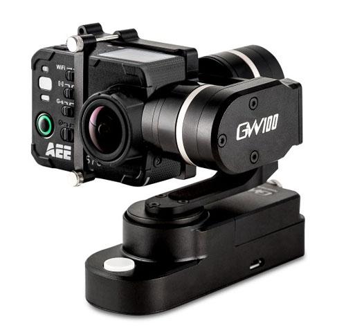 Le stabilisateur Feiyu GW 100 est compatible avec les caméras PNJcam AEE
