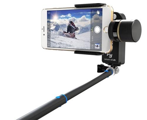 Steadycam 2 axes stabilisé Feiyu SmartStab pour Smartphone ou iPhone