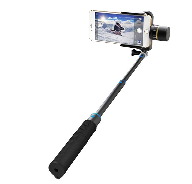 Perche télescopique fournie pour des selfies incroyables avec votre smartphone ou iPhone