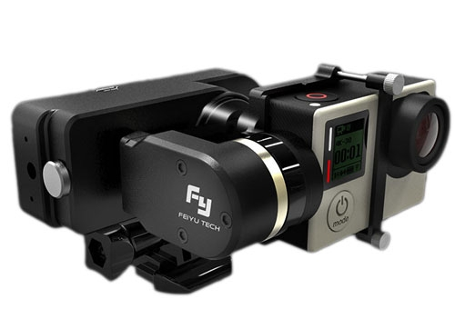 Le Feiyu WG Mini est compatible avec les fixations GoPro ce qui permettra une grande diversité d\'utilisation