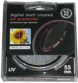 Filtre anti-UV 55mm pour adaptateur BlurFix