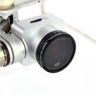 Filtre ND2-400 pour Phantom 3 Standard vue du filtre monté sur le drone