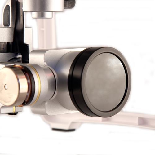 Filtre ND4/CP pour Phantom 3 & 4 - SRP monté sur la caméra