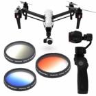 Ce pack de 3 filtres gradués sublimera vos photos aériennes sur  drone DJI Inspire 1 ou le stabilisateur main DJI Osmo.