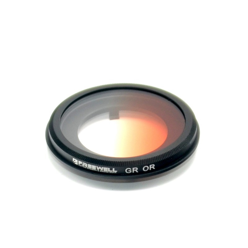 Filtre gradué orange Yuneec Q500 4K et Typhoon H