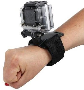 Fixation bracelet ajustable STS pour GoPro