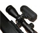 Fixation caméra pour lunette de tir