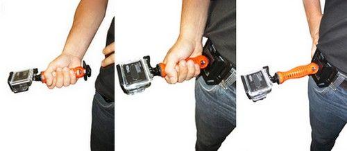 """Fixation ceinture 1/4\"""" pour caméra embarquée"""