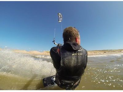 """Fixation dorsale 3rd Person View \""""Wind/KiteSurf\"""""""