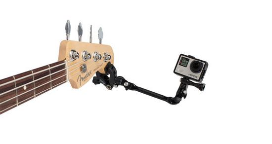 Découvrez la fixation The Jam pour GoPro à fixer sur votre guitare