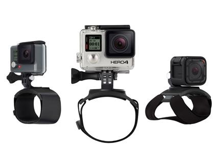 Découvrez la fixation The Strap de GoPro à fixer sur vos bras, votre main ou votre jambe