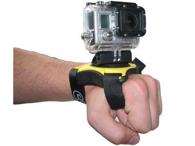 """Fixation main pour GoPro et 1/4\"""""""