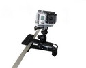 Fixation Pince + adaptateur GoPro