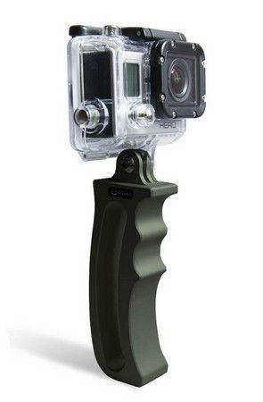 Fixation poignée en aluminium pour GoPro
