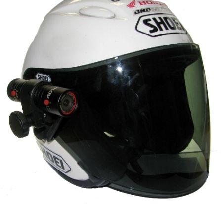 Fixation pour visière de casque (25-27,5 mm)