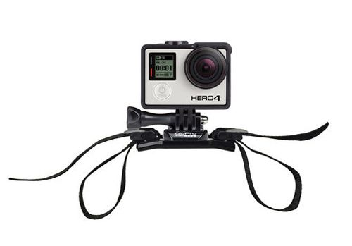 Fixation sangle pour caméra GoPro