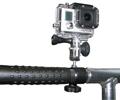 Fixation tube et guidon pour caméras GoPro