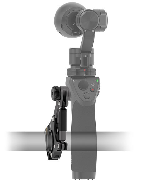 Fixation vélo pour stabilisateur 3 axes DJI Osmo