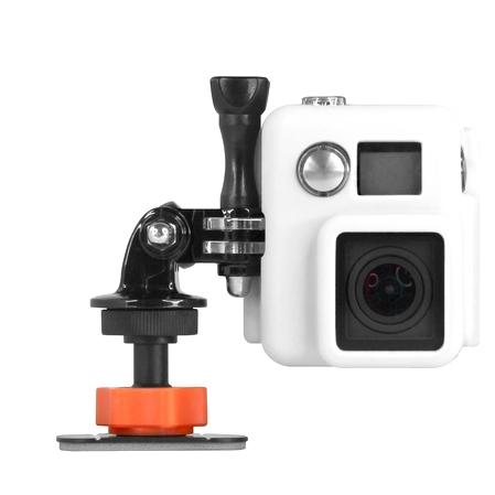 Fixations adhésives Sticky Mount avec caméra GoPro
