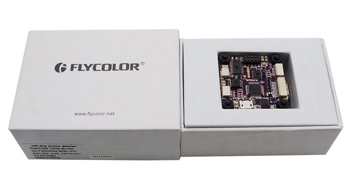 Flycolor Raptor 390 tower - dans sa boite