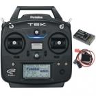 Radiocommande performante 6 voies avec télémétrie vocale et vibreur intégré. Gestion SBUS.