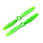 2 hélices GemFan 4x4.5 horaires - Vert