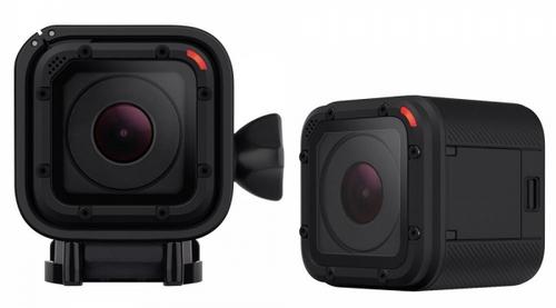 Caméra GoPro Hero Session vue de face et de biais