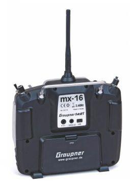 Graupner MX-16 HoTT, 8 voies + récepteur