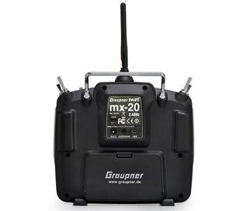 Graupner MX-20 HoTT, 12 voies + 2 récepteurs