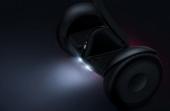 Gyropode Ninebot Mini Xiaomi de nuit avec lampes intégrées